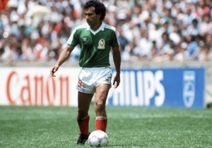 Hugo Sanchez in a less hungry moment.