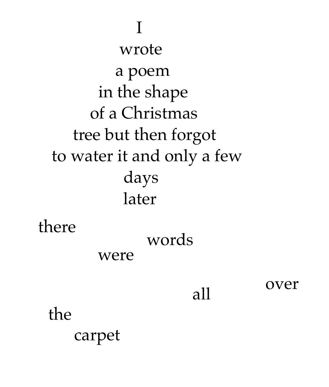 word needles